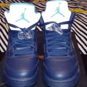 Air Jordan Retro 5's  (BG) size 6.5 kids/8 women's